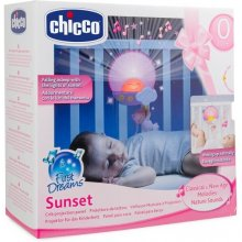 CHICCO Panel on cot sunset pink