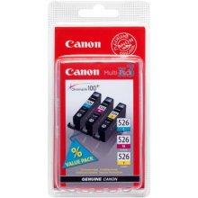 Tooner Canon CLI-526 C/M/Y, helesinine...