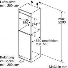 Külmik SIEMENS KI22LAF40 (EEK: A+++)