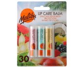 Malibu Lip Care Balm SPF30 Kit (3x4g)...
