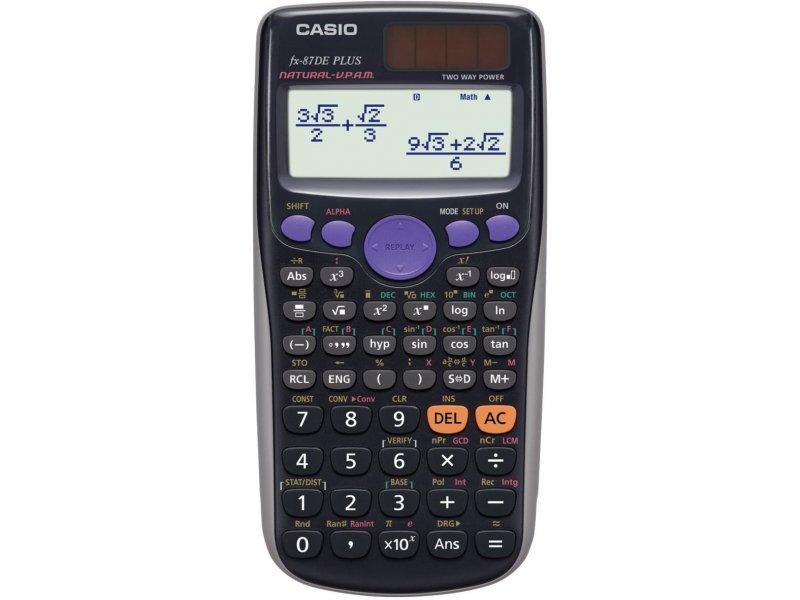калькулятор Casio Fx 87 De Plus