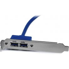 StarTech.com USB3SPLATE, IDC, 2 x USB 3.0...