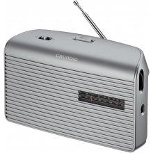 Радио Grundig музыка 60 серебристый
