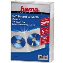 Диски Hama DVD-Doppel-Leerhülle Slim