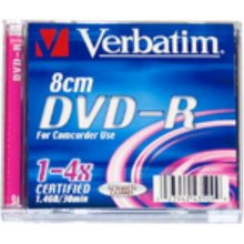 Диски Verbatim DVD-R mini jewel 1.4Gb 4x (5)