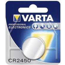 VARTA Batterie Knopfzelle CR2450 3V 560mAh...