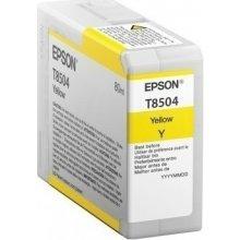 Tooner Epson SINGLEPACK kollane T850400