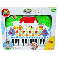 SIMBA ABC клавиатура с animals