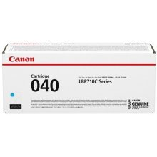 Canon 040 Toner helesinine