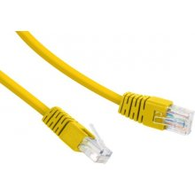 Gembird UTP Cat6 Patch cord, 0.5 m, жёлтый