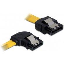 Delock 82493 Kabel SATA жёлтый links/gerade...