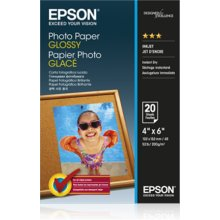 Epson Glossy foto paper, 10x15, Weight 200...