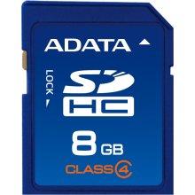 Mälukaart ADATA SDHC (Class 4) 8GB