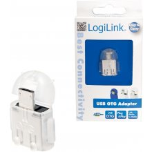 LogiLink - USB OTG adapter, transparent