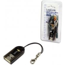 LogiLink Card Reader USB Mini Micro SD...