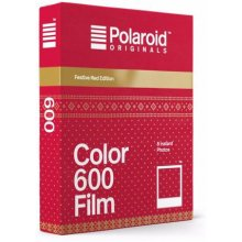 POLAROID 600 Color Festive punane Edition