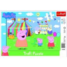 Peppa Pig RAAMPUSLE 15 PEPPA