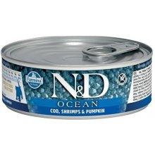 Farmina N&D OCEAN KITTEN Codfish, Shrimps &...