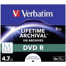 Диски Verbatim 1x5 M-диск DVD R 4,7GB 4x...