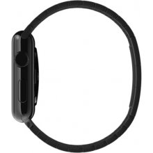 Apple Bracelet panel color stellar black to...