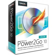 CyberLink Power2Go 10 Deluxe Windows -...