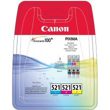 Tooner Canon CLI-521 C/M/Y, helesinine...