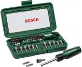 BOSCH Titanium Screwdriving Set 46 tk