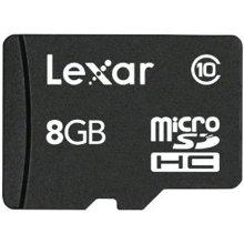 Флешка Lexar microSDHC-Karte 8GB mit адаптер