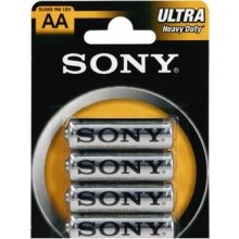 Sony Ultra AA/LR6, Heavy-Duty, 4 pc(s)