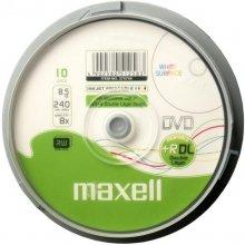 Диски Maxell DVD+R 8,5GB PRINT 8x двойной...