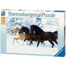 RAVENSBURGER 500 ELEMENTÓW Konie galopujące...