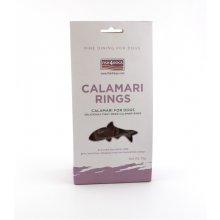 Fish4Dogs F4D KOERA MAIUS CALAMARI RINGS 75G