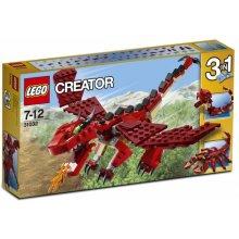 LEGO Creator 31032 красный Creatures