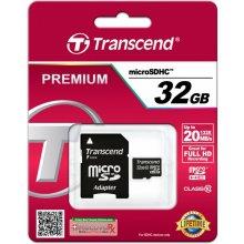Флешка Transcend microSDHC 32GB Class 10 +...