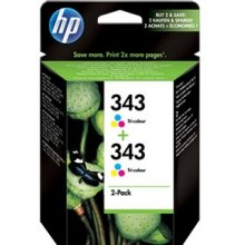 Тонер HP INC. Cartridge HP 343 tri-colour...