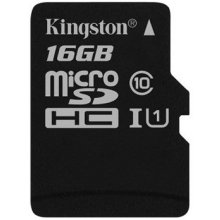 Mälukaart KINGSTON MicroSDHC 16Gb cl10
