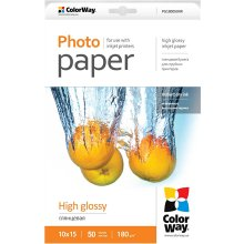 ColorWay High Glossy foto Paper, 50 Sheets...