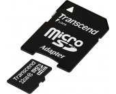 Флешка Transcend memory card Micro SDHC 32GB...