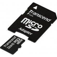 Флешка Transcend память card Micro SDHC 32GB...
