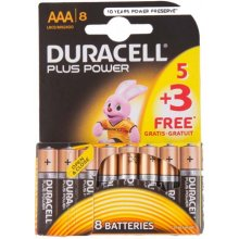 DURACELL Plus Power, Alkaline, Cylindrical...