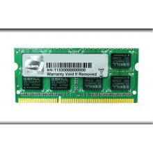 Mälu G.Skill SO DDR3 2GB PC 1333 CL9S 2GBSQ