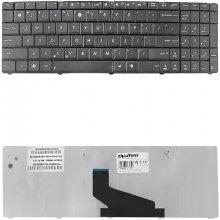 Qoltec Notebook klaviatuur Asus X53U Black
