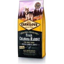 CARNI LOVE Fresh Chicken & Rabbit 1.5kg