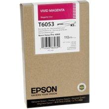 Тонер Epson T6053 Tinte Vivid Magenta