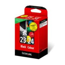 Tooner Lexmark Valuepack Nr.23+24 bk/color...