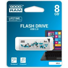 Флешка GOODRAM CL!CK 8GB USB2.0 белый