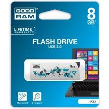 Mälukaart GOODRAM CL!CK 8GB USB2.0 valge