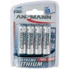 Ansmann 1x4 Extreme литий Mignon AA LR 6