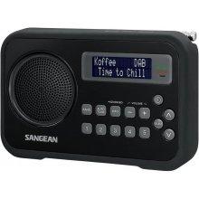 Raadio Sangean DPR-67 DAB+ black/black