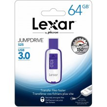 Флешка Lexar JumpDrive USB 3.0 S25 64GB